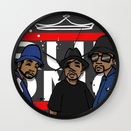 Get Down with the Kings Wall Clock