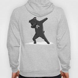 Funny Dabbing Staffordshire Bull Terrier Dog Dab Dance Hoody