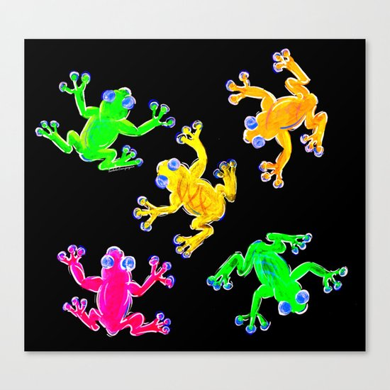 Rainforest Multicolour Canvas Print