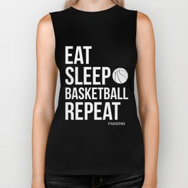 Basketball sports ballgame basket player gift Biker Tank