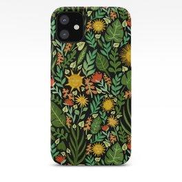 Sunshine Botanical - Dark Version iPhone Case