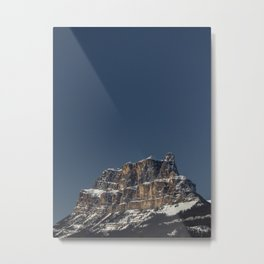 Castle Mountain Metal Print
