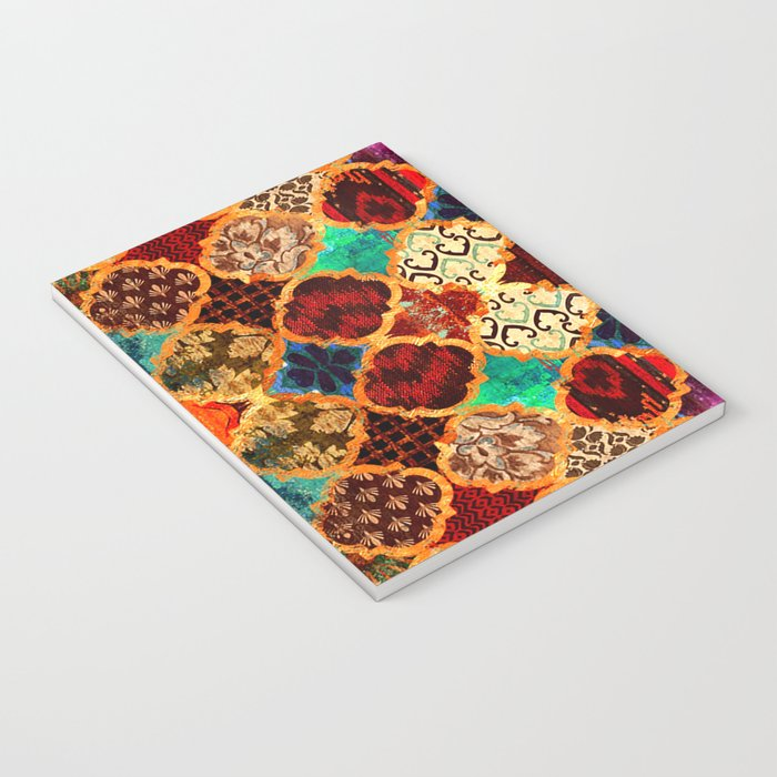 -A32- Epic Colored Traditional Moroccan Artwork. Notebook