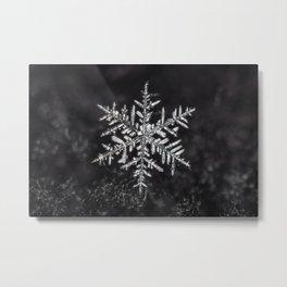 January Snowfake #5 Metal Print