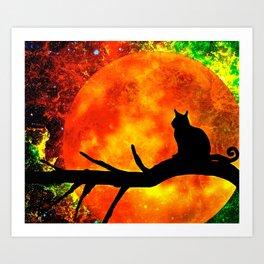 CAT 4 Art Print
