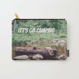 Let's Go Camping II Carry-All Pouch