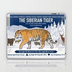 The Wild Ones: Siberian Tiger (info) Laptop & iPad Skin