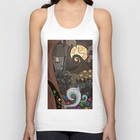 nightmare before christmas Tank Tops featuring Nightmare Before Christmas by Lacey Simpson