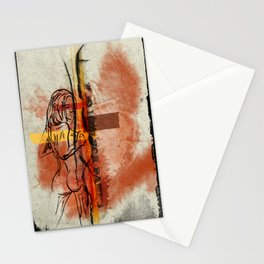 Too Hot for Pants Stationery Cards