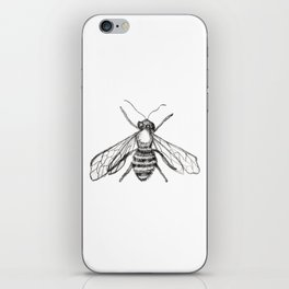 The Pale Bee iPhone Skin