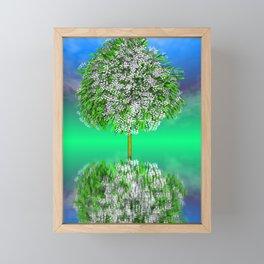 strange light somewhere -31- Framed Mini Art Print