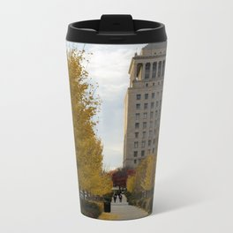Fall in St. Louis Metal Travel Mug