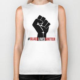 Black Lives Matter #BLM Protest Biker Tank
