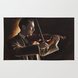 The Violinist Rug