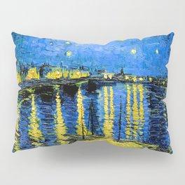 Van Gogh Starry Night Over the Rhone Pillow Sham