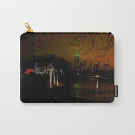 Christmas Lights, City Lights (Chicago Architecture Collection) Carry-All Pouch