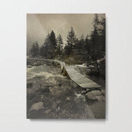 on the road 000 Metal Print