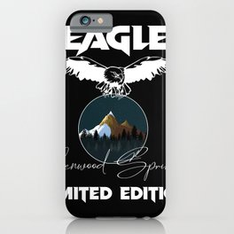 Glenwood Springs Eagle Limited Edition Funny iPhone Case