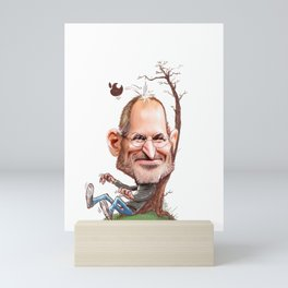 Jobs Mini Art Print