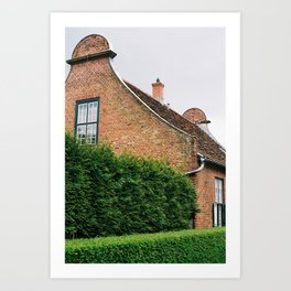 Dutch Quartier - Potsdam, 2017 Art Print