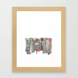 Emotions We Did Not Commit To Framed Art Print