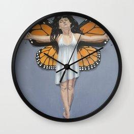 Crucify Wall Clock