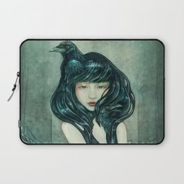 Oracle of the sodden raven Laptop Sleeve