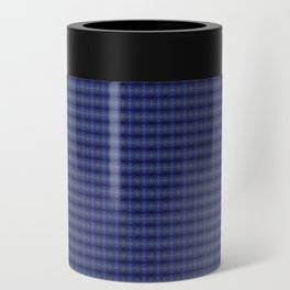 Peacock Blues Pattern Can Cooler