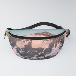 Pink Cascade Mountain Fanny Pack