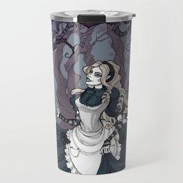 Alice and the Cheshire Cat Travel Mug