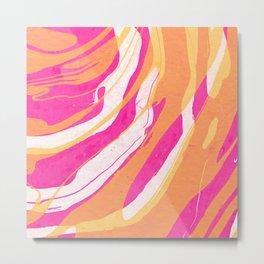 Watercolor abstract painting Metal Print