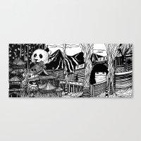 china Canvas Prints featuring China by Matt Ferguson