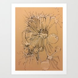 Dandelion #1 Art Print