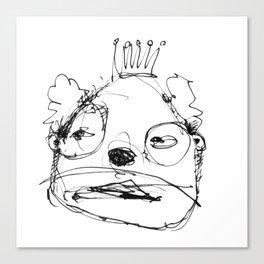 Clowns in Crowns #5 Canvas Print