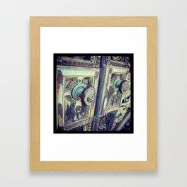 Vintage Knob Framed Art Print