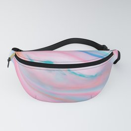 Pastel tones an agate-like marble stone Fanny Pack