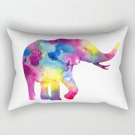 Abstract Elephant Rectangular Pillow