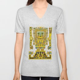 Viracocha Color Unisex V-Neck