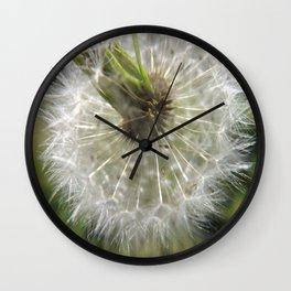 Close Your Eyes And Make A Wish Wall Clock