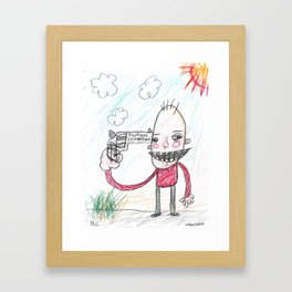 Political Correctness Framed Art Print