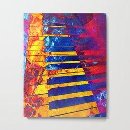 Piano Art Metal Print