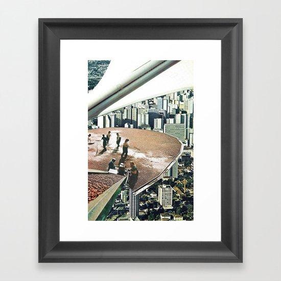 concorde  Framed Art Print