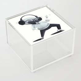 Air Guitar Pug Acrylic Box