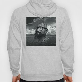 Eco Hipster Black and White Hoody