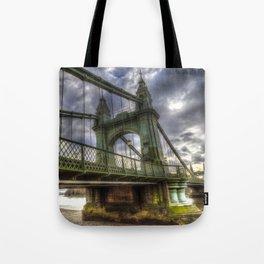 Hammersmith Bridge London Tote Bag