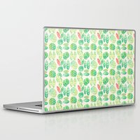 minimalist Laptop & iPad Skins featuring minimalist spring by serenita