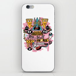 Pizza Mystery iPhone Skin