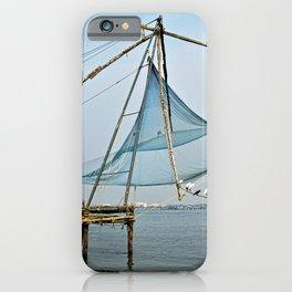 Traditional Chinese Fishing Net Shorebirds, India iPhone Case