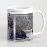 twin peaks Mugs featuring Twin Peaks by Roger Wedegis