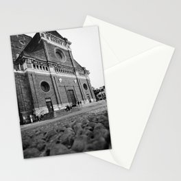 Beautiful view in the center of Pavia Stationery Cards